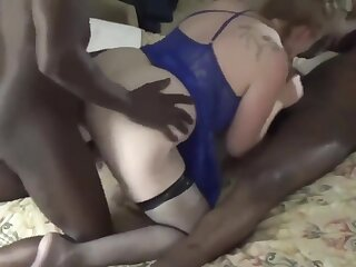 Acquiring her fill of BBC