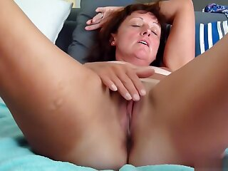 Dirty Talking Wife fuck here dribble wet cunt and creamy arse