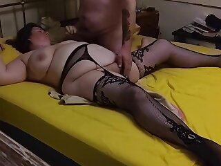 Bbw take stockings cumming with toys