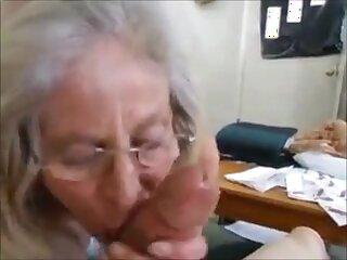 Hungry grandma permanent handjob and cum in brashness