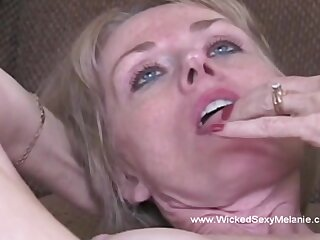 Awesome creampie be useful to hot amateur milf named Neglected XXX Melanie.