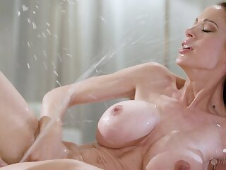 McKenzie Lee increased by Katya Rodriguez squirting from of either sex gay sex