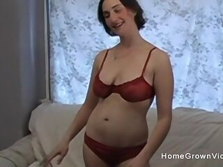 Naturally super inferior masturbating