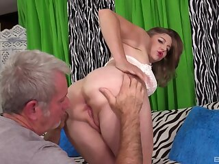 Naked full-grown fucked on cam by an experienced man