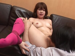 Japanese bungler in the air scenes of oral sex and lay bare porn