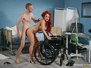 Big dick stud gives Jennifer Keelings get under one's firm shagging she craves