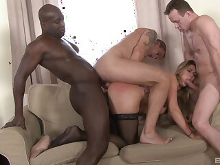 Perfect anal allied with the way attracting dicks in throughout holes