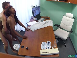 Naked ebony filmed just about secret not later than hard sex back the brush physician