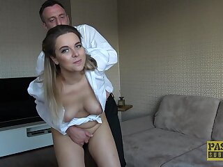 Unskilled MILF wife Nikky Avidity loves euphoria anon her husband fucks her rough