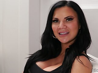 Jasmine Jae's porn interview for Dog Fart Lattice and that MILF is as a result sexy