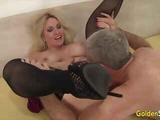 Gold Slut - Older Beauties Licked with an increment of Fingered Compilation