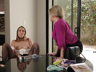 Smooth lesbian sex in the afternoon - Dee Williams and Cadence Lux