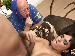 Amazing cheating wife Valery Summer rides while her hubby watches