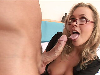 MILF in Police Uniform With Big Tits Rides Big Dick, Anal & Hard