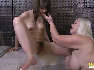 OldNannY Lacey Starr Seduced Super Hot Lesbian