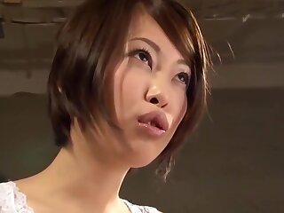 Japanese Beauty Girl Saki Otsuka Mimic Penetration