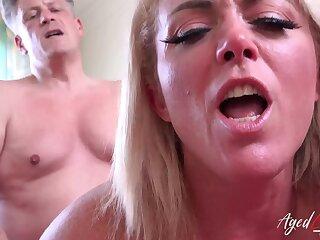 AgedLovE Sex-mad Mature Hardcore High-pressure on Elbow Stud