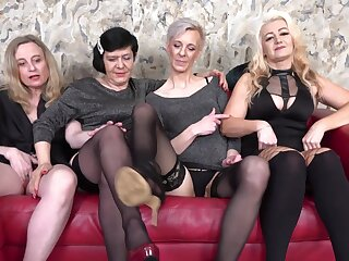 Unskilful homemade motion picture of Charlie codification a dick with 3 of her friends